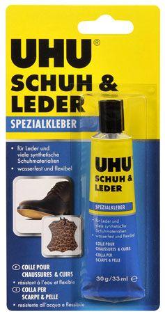 UHU Клей для кожи и обуви арт.46680 33мл.