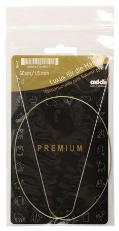 ADDI Спицы круговые никель №1,5 60см