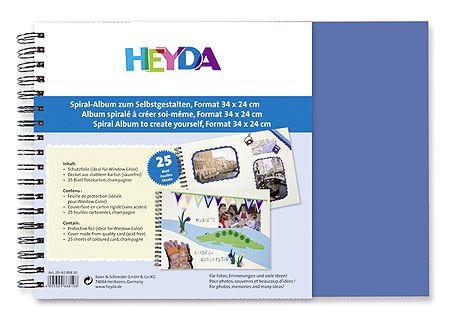Heyda Заготовка для альбома на кольцах арт.20-61 868 35 24х34см