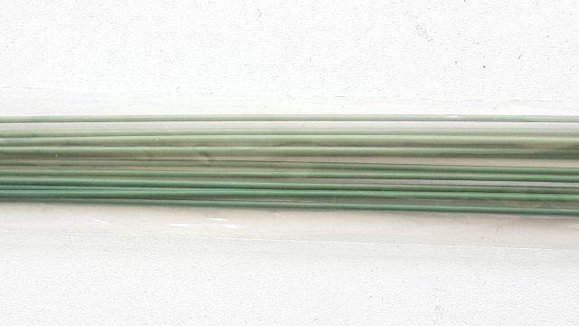 Blumentag Проволока флористическая в оплётке арт.PGW-1.2.40см, диам.1,2мм, 12шт.