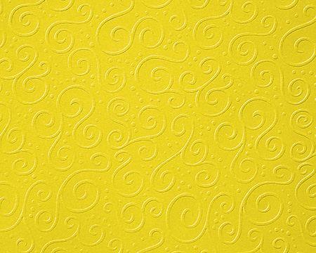 "Heyda Бумага д/скрапбукинга 20-47 72621 ""Milano"" рельефным рисункоми А4 жёлтый"