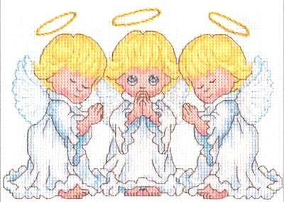 Dimensions Набор для вышивания 70-65167 Маленькие ангелочки