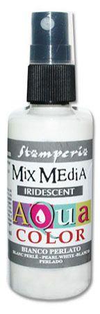 """Stamperia Краска - спрей """"Aquacolor Spray """" с переливчатым эффектом для техники """"Mix Media"""", 60 мл,"""