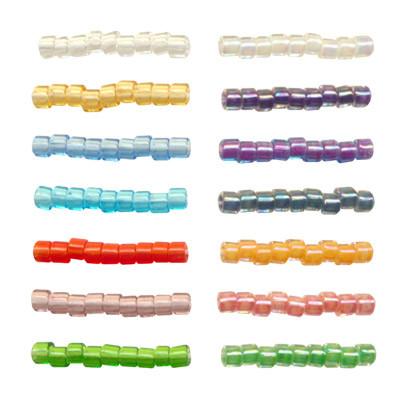 Toho beads Бисер 11/0 TREASURE №1 1.6 мм  5 г