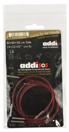 ADDI Набор лесок addiSOS длиною 60, 80 и 100 см для системы addiClick 768-7/000