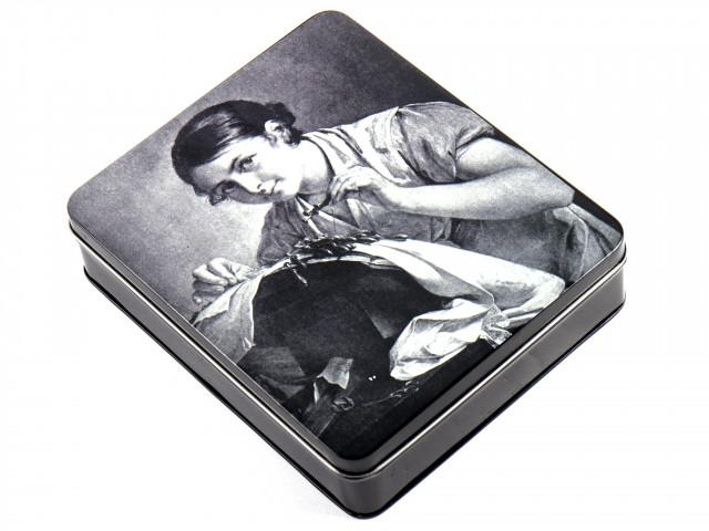 Hemline Металлическая коробочка для мелкой фурнитуры, 19 х 16 х 5 см