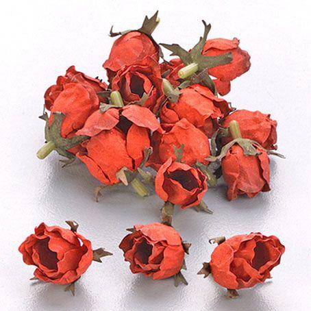 """Knorr  Цветы для декорирования 7611 056 """"Роза"""" красный, 24шт."""
