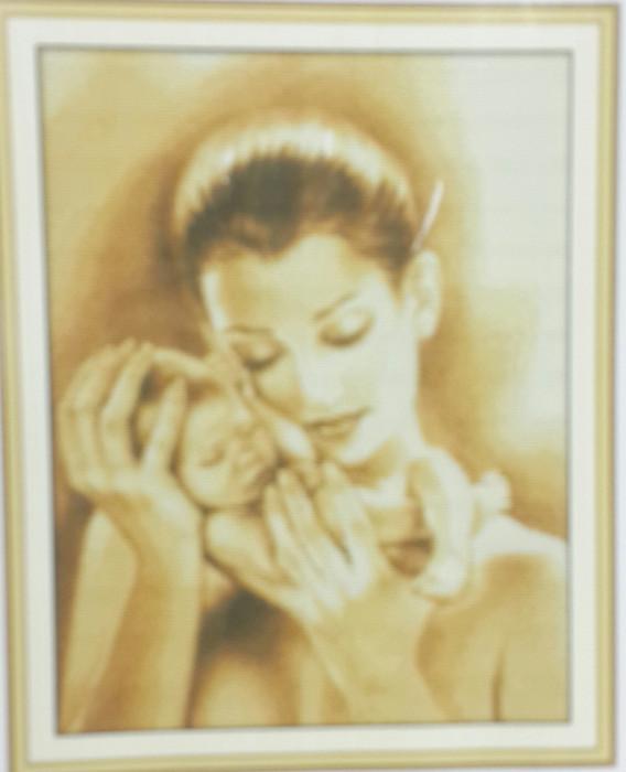 """NKF Набор для вышивания RА230 """"Мать и сын"""" 44х55см"""