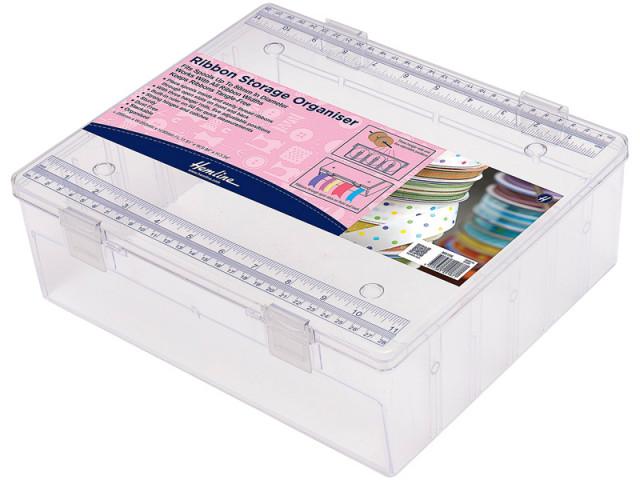 Hemline Органайзер для лент, 29,5 x 25 x 9 см, пластик, прозрачный. М3106