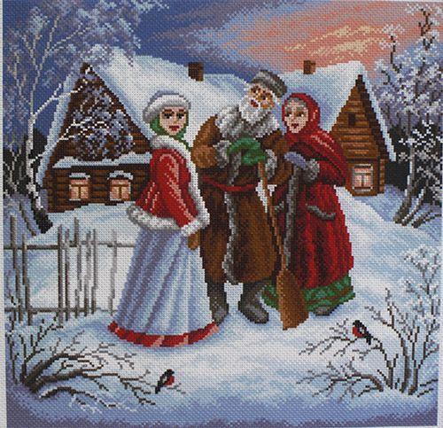 """МП канва с рисунком 1466 """"Внученька"""""""
