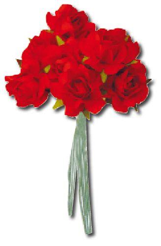 """Stamperia Цветы для декорирования SF110 """"Красные розы"""""""