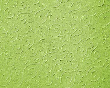 """Heyda Бумага д/скрапбукинга 20-47 72624 """"Milano"""" рельефным рисункоми А4 зелёный"""