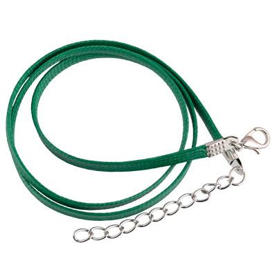 Zlatka Шейный шнур вощеный с замком CWC-01 4мм, 45см